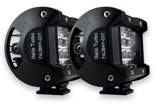par faro 12 led auxiliar luz bicolor dually con estrobo