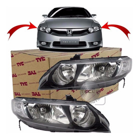 Par Farol New Civic 2006 2007 2008 2009 2010 2011 Tyc