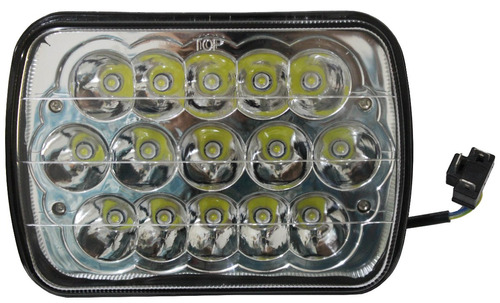 par faros led h6054 5x7 jeep cherokee xj, international yj 7