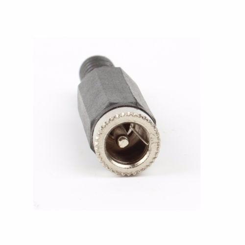 par ficha plug macho hembra de poder power 5.5mm x 2.1mm