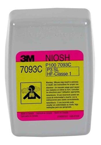 par filtros cartuchos 3m original fluoruro hidrógeno 7093c