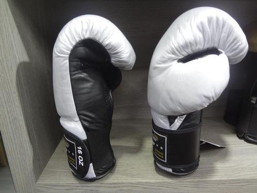 par guantes box de piel silver 16 oz palomares genuino