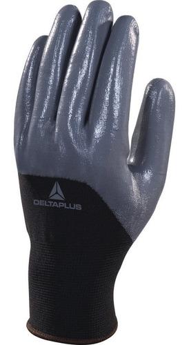 par guantes poliester nitrilo delta plus ve715