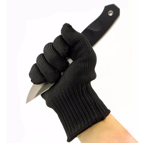 par guantes proteccion  anticorte hilo acero inoxidable