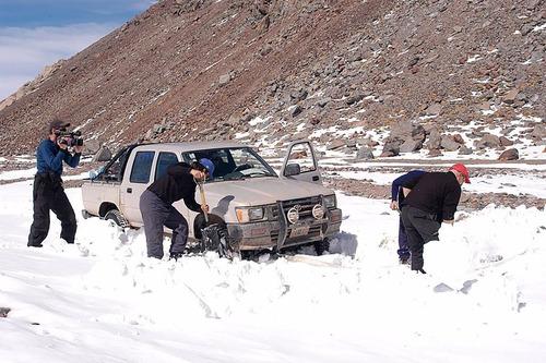 par huella tracción anti quiebre 3.5tn nieve / arena / barro
