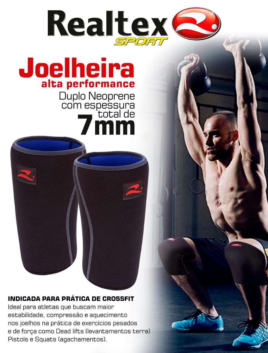 Par Joelheira Neoprene 7mm Crossfit Musculação Lpo Tam P - R  104 e7ae097c3bc2e