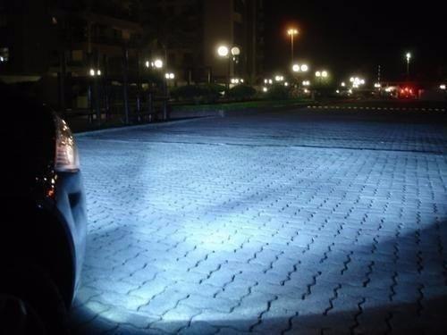par lampada super branca h3 8500k farol milha gol quadrado