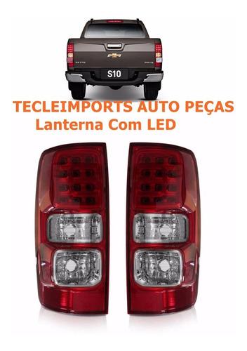 par lanterna s10 ano 2012 2013 2014 2015 2016 ltz com led