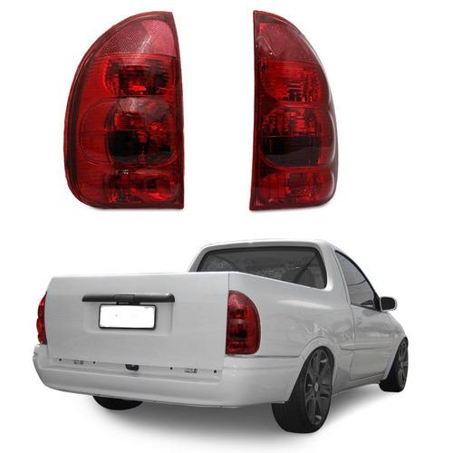 par lanterna traseira red corsa 4p wagon 2000 2001 2002 2003