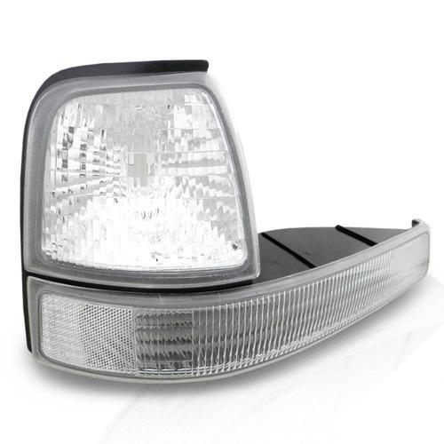 par lanternas piscas dianteiro ranger 98 00 01 03 04 cristal