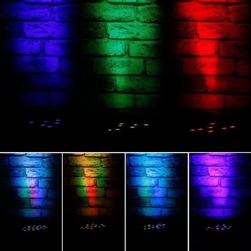 par led 24 x 3 w luces sicodelica ritmica concierto disco