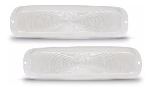 par lente do pisca c10 c14 a10 d10 d60 veraneio - cristal
