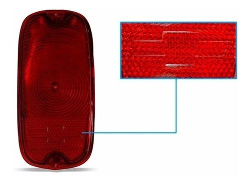 par lente lanterna traseira a10 c10 d10 c14 vermelha