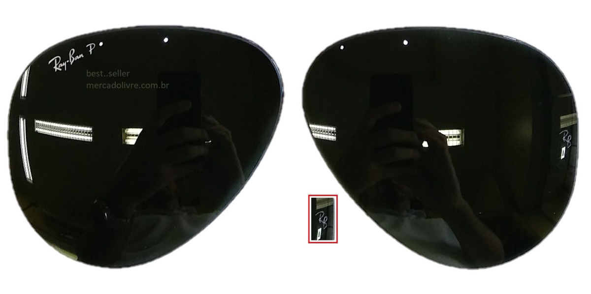1fb48c30a5f3a par lente ray ban aviador rb 3025 62 grande polarizado verde. Carregando  zoom.