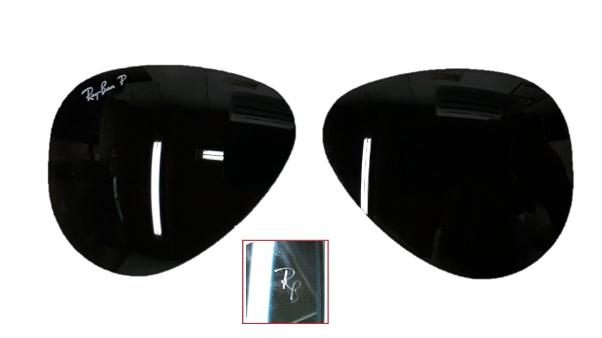 b2b5b228bcefe par lente ray ban aviador rb 8307 58 polarizado verde. Carregando zoom.