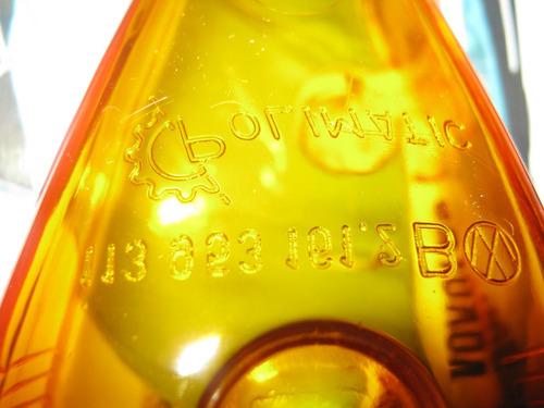 par lentes fusca itamar série ouro sorriso largo com logo vw