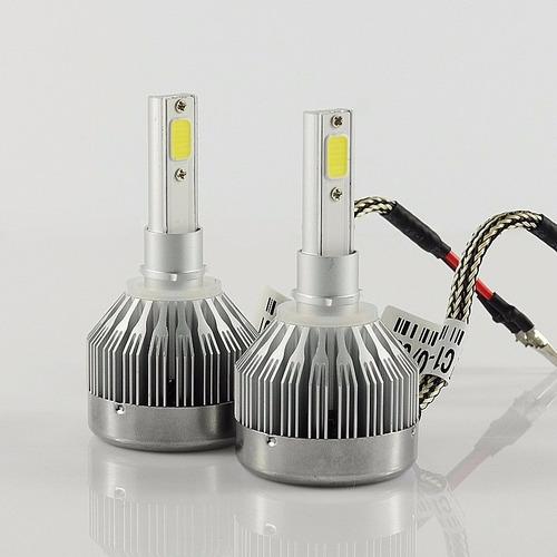 par lâmpada farol led h27-880-881 - 60w 6000k ate 50.000 h