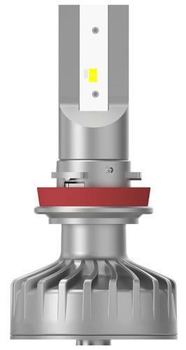 par lâmpada philips led fog ultinon 6200k h8 h11 h16 +160%