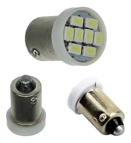 par lâmpadas automotiva 24v - 8 led ba9s 69 pingo teto placa