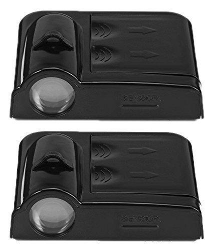 par luces de cortesía luz led proyecta el logo de tu auto al abrir la puerta inalámbrico