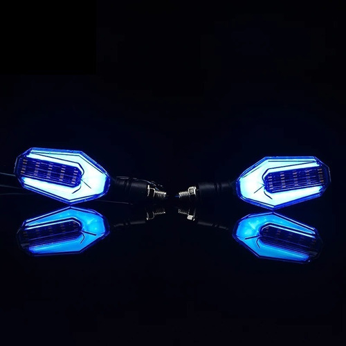 par luces intermitentes moto