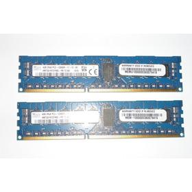 Par Memórias Hynix Htm351r7cfr8c-pb 4gb Pc3-12800r-11-12-b1