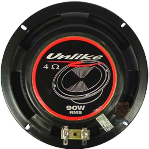 par mid bass unlike unf61 180watts rms 6 polegadas