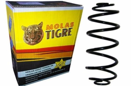 par mola traseira gol g5 g6 08/ reforçada gnv - tigre