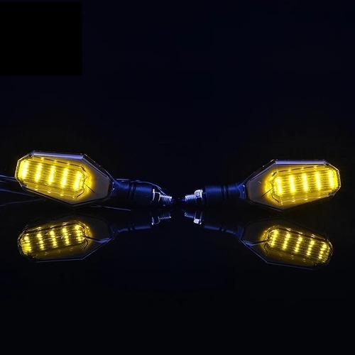 par neblinero luces intermitentes direccionales led de moto