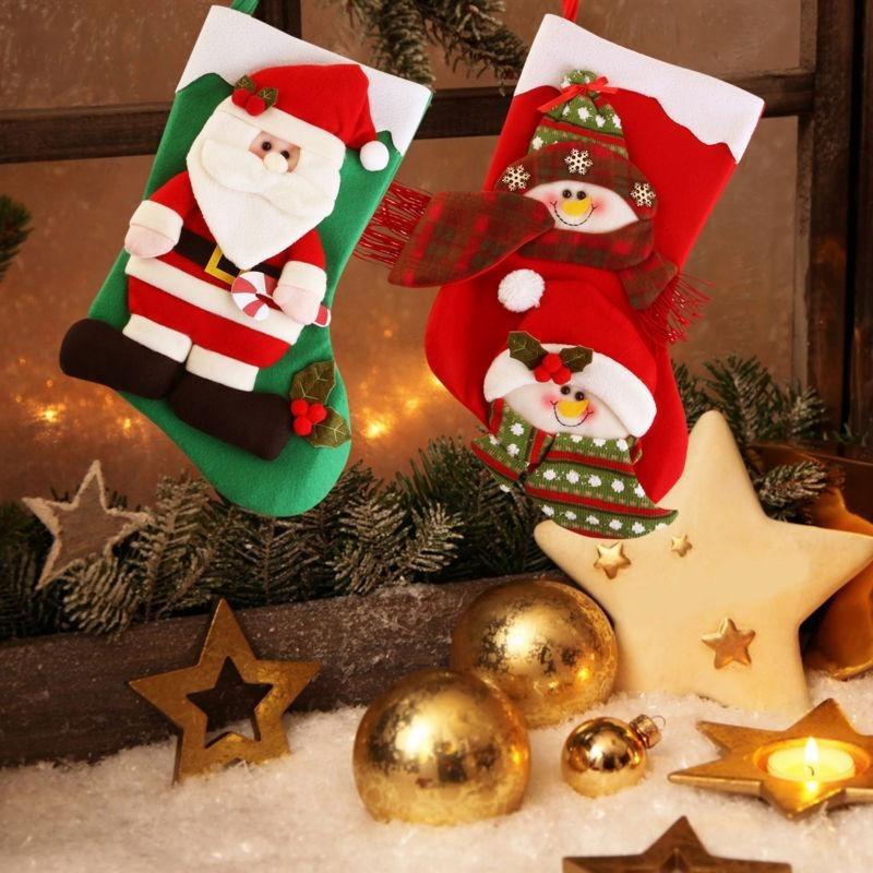 Par Nicexmas De La Santa Siembra Navidad Calcetines Ren-0754 ...