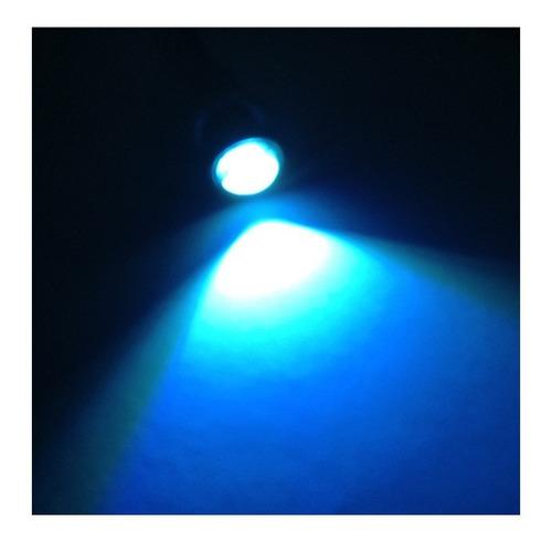par ojo de aguila faros led tipo xenon niebla 23mm drl, 2 pz