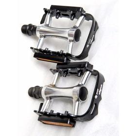 Par Pedal Mtb Bike Wellgo M-248 Du Aluminio C/refletores