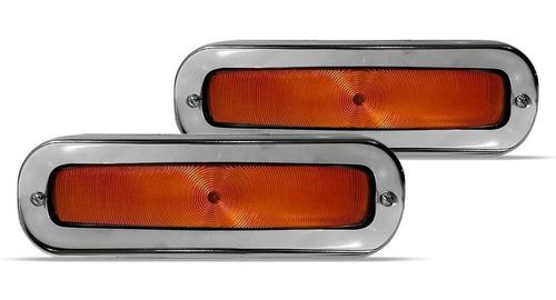 par pisca dianteiro a10 c10 d10 a14 c14 veraneio laranja