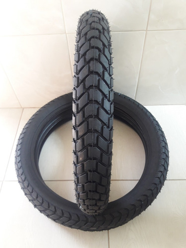 par pneu 110/90-17 e 90/90-19 technic t&c bros 150 crosser