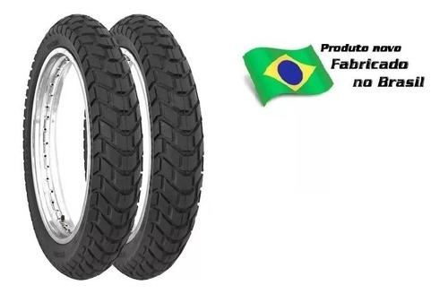 par pneu 110/90-17 e 90/90-19 technic t&c bros 150/160/125