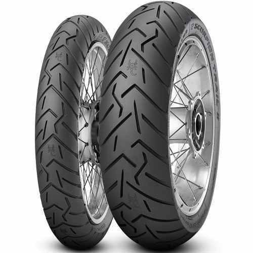 par pneu 120/70r17 + 160/60r17 cb scorpion trail 2 pirelli
