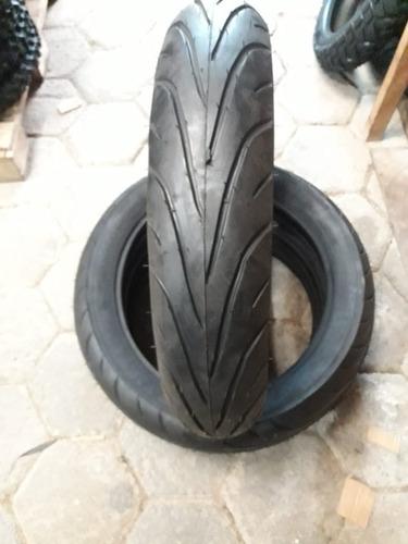 par pneu 130/80-17 e 110/80-17 american speed twister fazer