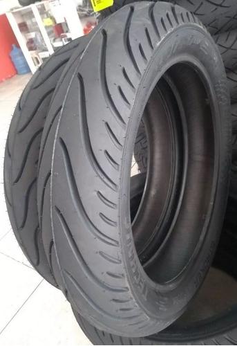 par pneu 140/70-17 e 110/70-17 stroker cb300 twister fazer