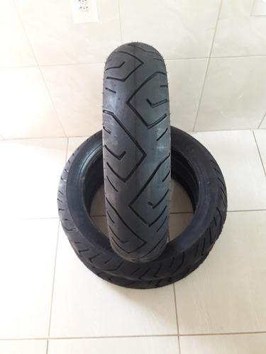 par pneu 140/70-17 e 110/70-17 technic cb 300 twister fazer