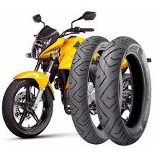 par pneu 140/70-17 e 110/70-17 technic cb 300/fazer/next