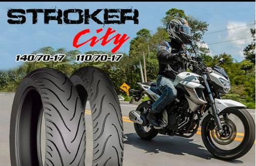par pneu 140/70-17 e 110/70-17 technic cb300 / next stroker