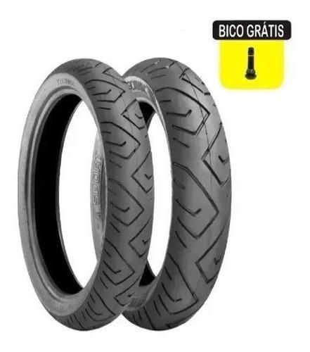 par pneu 140/70-17 e 110/70-17 technic cb300 twister ninja