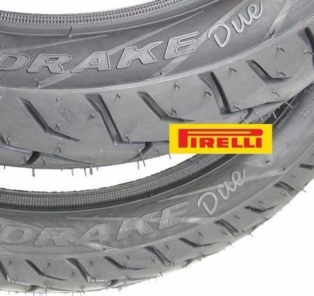 par pneu 275-17 + 110/80-14 pirelli mandrake due honda biz