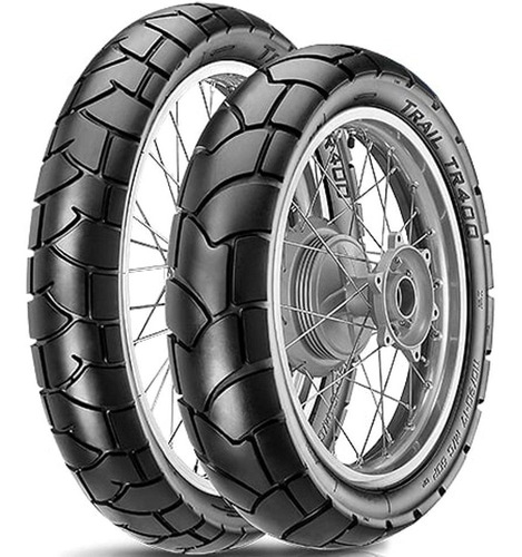 par pneu bros nxr xtz 150 90/90-19 + 110/90-17 tr400 vipal