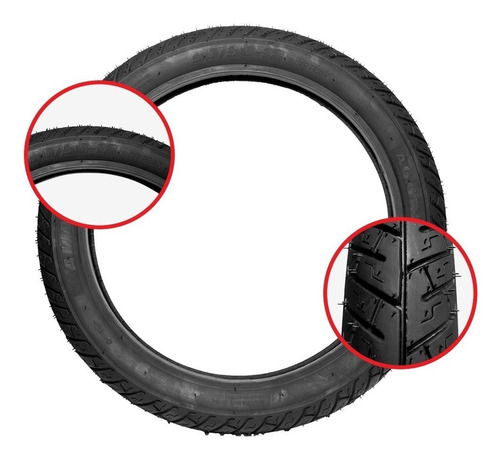 par pneu cg titan 125 150 amazon 90/90-18 2.75-18