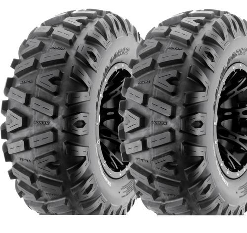 par pneu dianteiro 27/9-12 utv can am kenda bounty hunter