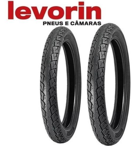 par pneu levorin matrix 80/100-18 + 100/90-18 ys fazer 150