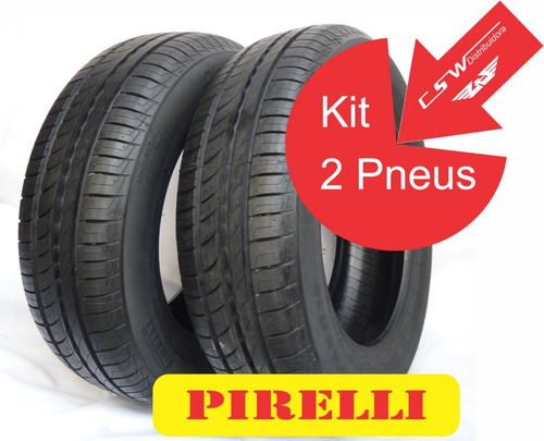 par pneu pirelli 185/65/15 88h aro 15  cinturato p1 carro