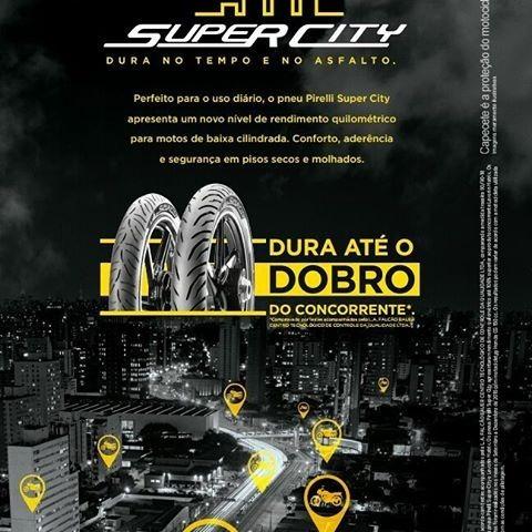 par pneu pirelli 80/100-18 + 90/90-18 super city titan 150