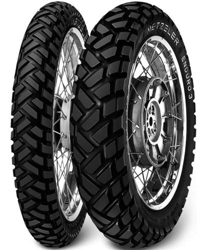 par pneu xre 300 90/90-21 + 140/80-18 tt enduro 3 metzeler